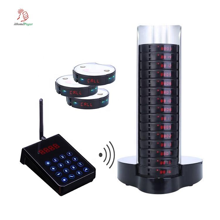 FM entièrement étanche d'hôtes vibrant sans fil téléavertisseur alimentaire d'urgence - ANKUX Tech Co., Ltd