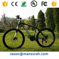 china bike supplier alloy mtb mountain bicycle 26*17 inch 27 speed disc brake complete bike