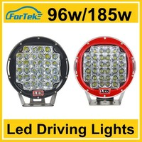 jeep led driving lights 7 inch 96w 185w