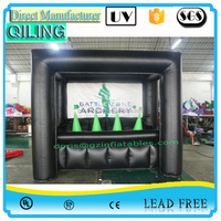 (Qi Ling) inflatable archery game/inflatable archery sport/inflatable archery hoverball