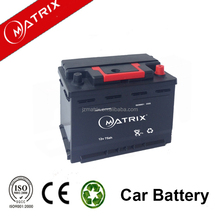 factory wholesale price for 75ah mf car battery maintenance free battery DIN standard DIN75MF auto batteries