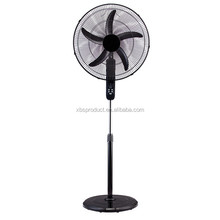 New Design remote control 20 inch 50cm round base electric plastic standing fan with CE