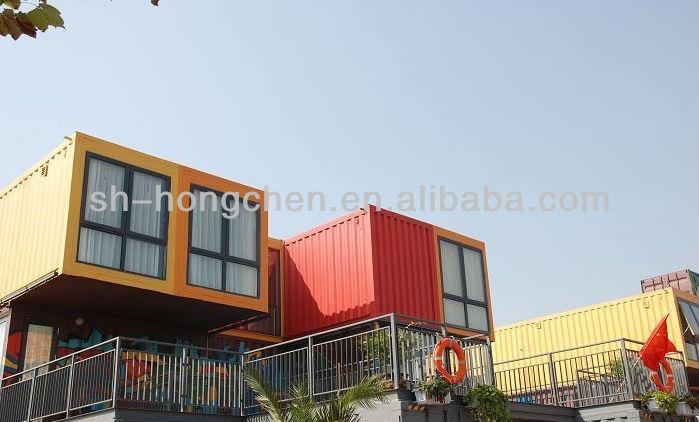 Nieuwste china economische stacaravan containers voor woon container kit huizen prefab huizen - Mobil home economicos ...