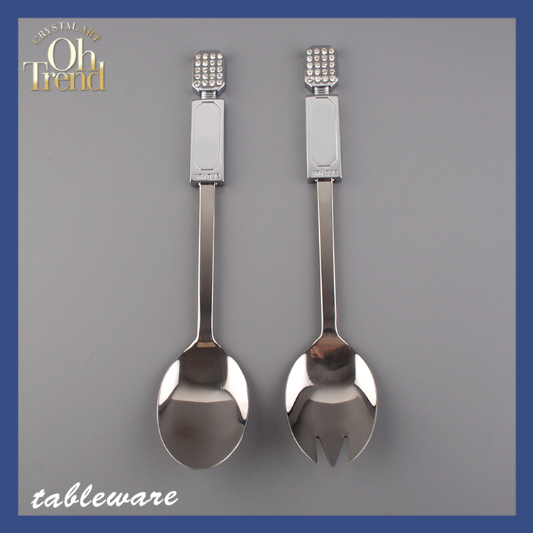 Best sale stainless steel flatware wedding favors exquisite hollow heart chopstick spoon and fork tableware for restaurants