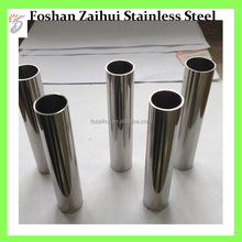 42MM Outer Diameter Mirror Polished 304 Stainless Steel Pipe Round Shape Tubing