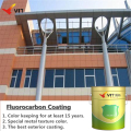 WGS-6371 Modified Solid Color Fluorocarbon Paint, fluorocarbon coating, exterior paint