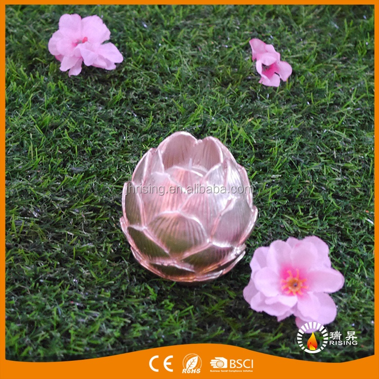 2017 flower shape electric led craft candle