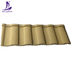 Guangzhou best price decorative curved building materials lightweight stone coated roof tile