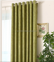 Top Quality Luxury Valance With Back And 2 Tassels 2 PCS Western Style Fringe Jacquard Curtains