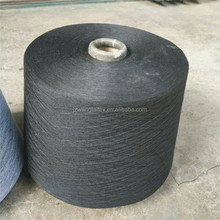 100% polyester spun yarn close virgin dyed colour 30s for weaving