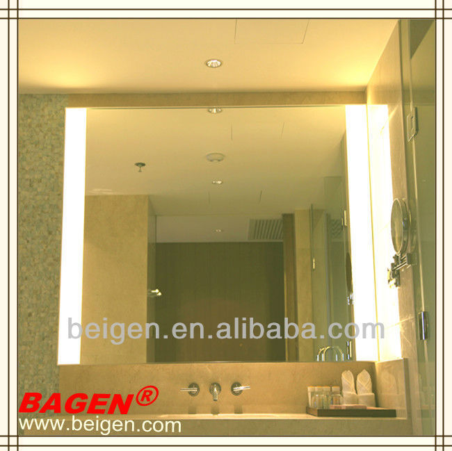 Hotel Bathroom Vanity Illuminated Mirror From Shanghai China17 Years Supply For Hotels