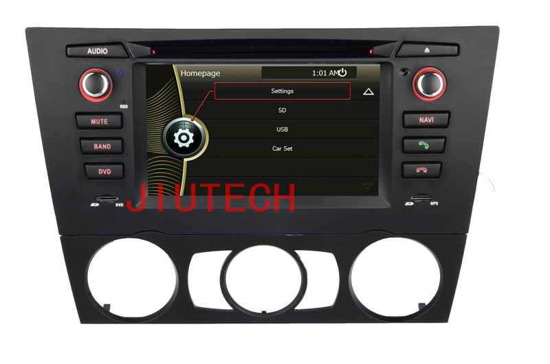 Car Stereo For B-M-W 3 Series E90 E91 E92 E93 car multimedia player Autoradio Headunit (For Manual air condition)