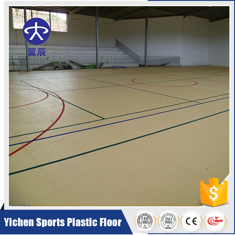 Best Price PVC Sports Flooring for Indoor Basketball Court Used