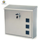 Modern Rust Proof Stainless Steel Wall Mounted Lockable Mailbox