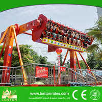 Manufacturer China Amusement Rides 360 Degree Rotating Top Spin Adult Park Ride