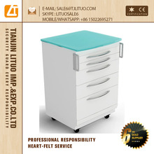 Dental small cabinet with many drawers