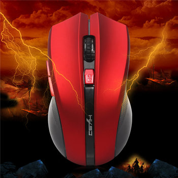Portable Optical Wireless Mouse USB 2.4G Computer Mouse Adjustable 2400DPI 6 Buttons Gaming Mouse PC Mice for Laptop Gamer