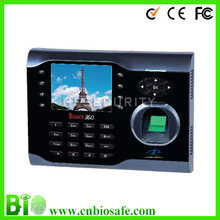 ZK Software Keypad Proximity Card USB Fingerprint Time Clock And Recorder(HF-Iclock360)