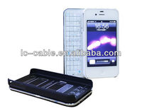 For IPhone4G/Iphone4s keyboard,mini sliding bluetooth keyboard for Iphone4 with portable design