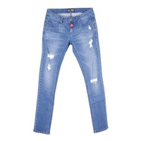 Hot sexy women jeans pent nice pattern embroidery skinny latest ladies trousers destroyed denim jeans favorable in America