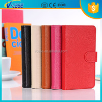 Fashion Design Mobile Phone Genuine Leather Case for Samsung Galaxy Note 4