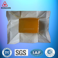 Sanitary napkin and diaper contruction hot melt adhesive