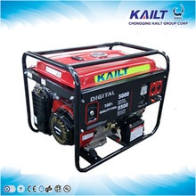 Quality assurance 10kva silent petrol generator with digital instrument