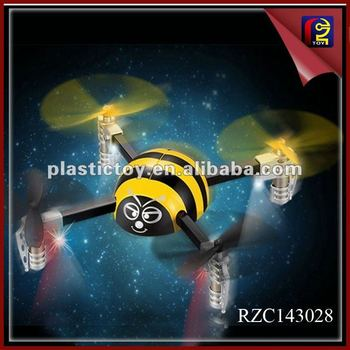 Novelty 4-CH 2.4G Mini Quad-copter RZC143028