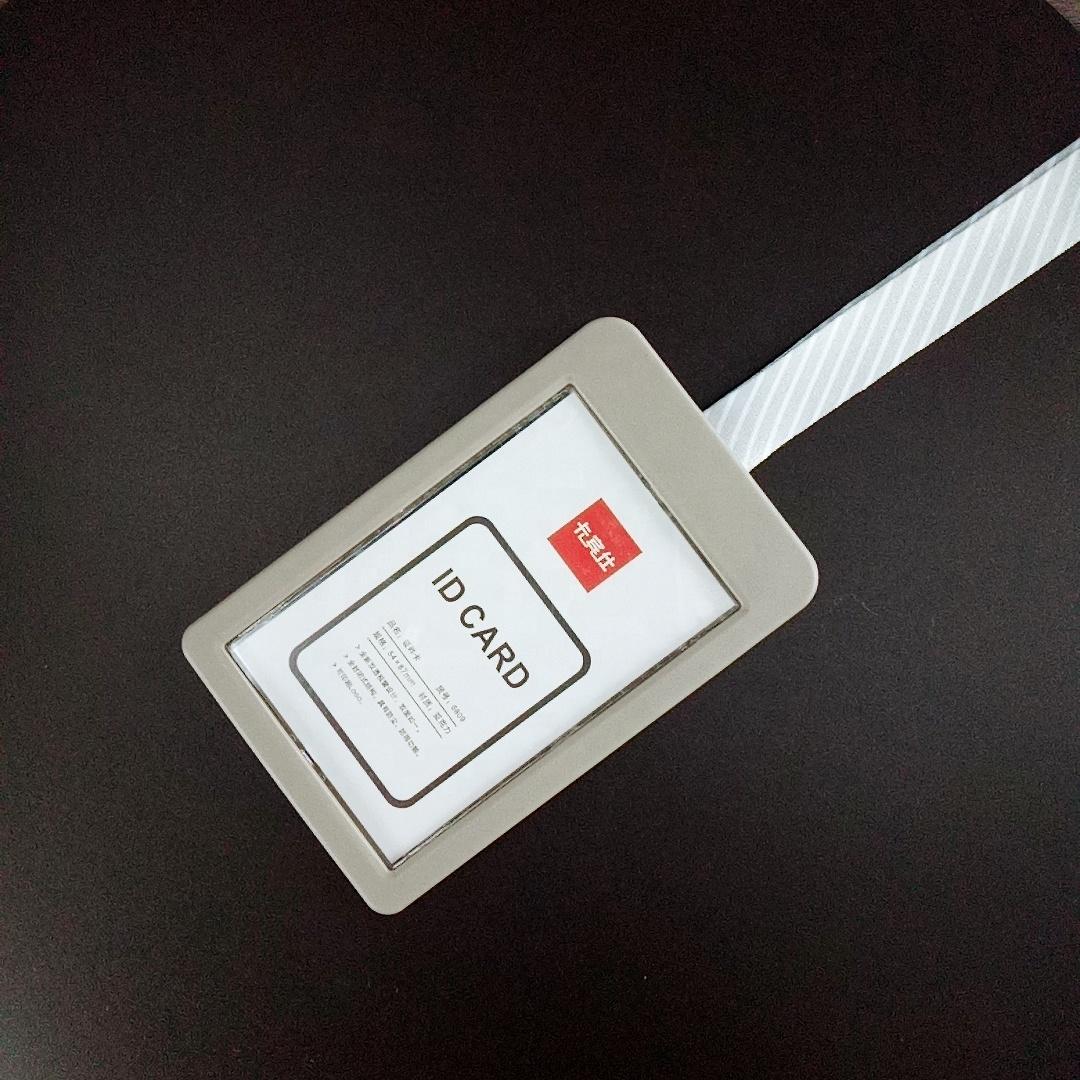 Hot Rhinestone Business Clip Card Cover Horizontal ID Tage Card Badge Holder Q