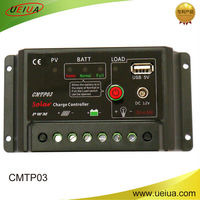 30A 12V 24V Auto Solar Battery Charge Controller with timer lamp regulator for LED street lighting or solar home system