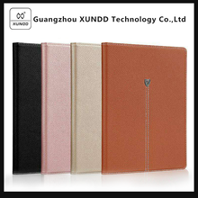 [XUNDD]PU Leather Wallet Case for Apple New Ipad 2017 with Credit Card and Money Slots