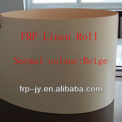 Decorative Linen Finish Fiberglass FRP/GRP Sheets For Indoor Building And RV Decoration(China Best Fiberglass Machinery Plate)