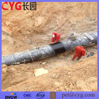 Buried gas pipeline protection coating