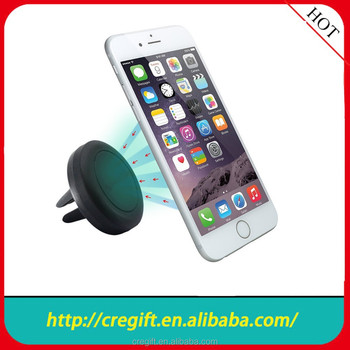 2015Hot selling OEM special design, magnetic car mount,air vent mobile holder for iphone6/6p