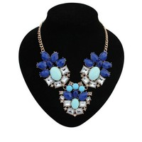2015 Latest gift made in China handmade statement necklace