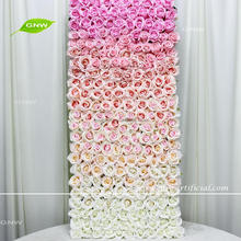 GNW FLW1705002 Flower Making Supplies Silk Artificial Wall For Wedding Home Stage Decorations