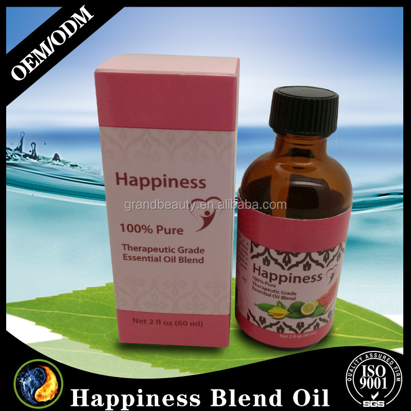 Happiness Blend Synergy Essential Oil Blend (Pure & Natural),2 Ounce
