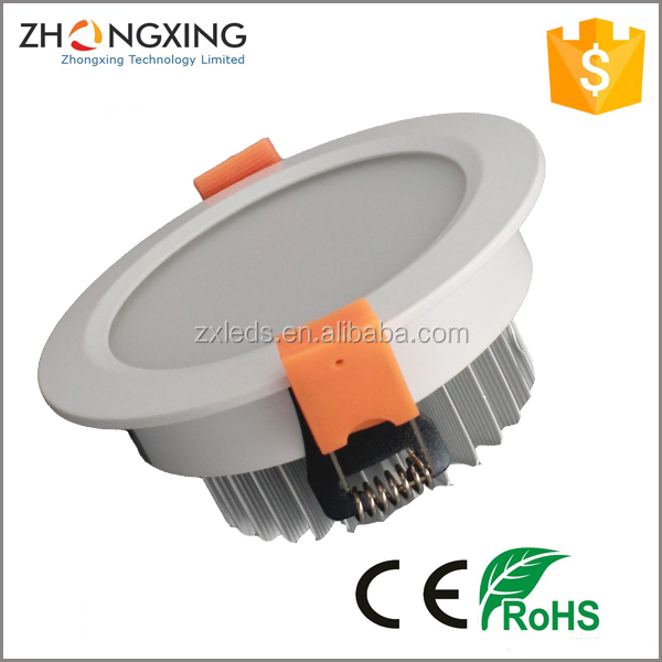 Recessed 3 year warranty with CE/Rohs 5630 SMD led downlight ra>80 3w 5w