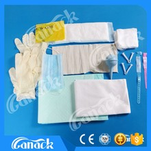 Disposable Sterile Delivery birth drapes kit for new born babys and mother