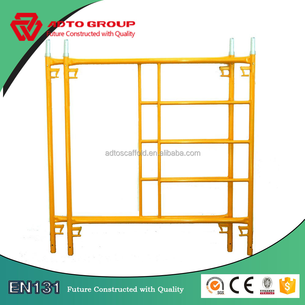 Canadian lock box frame scaffolding with coulping pin