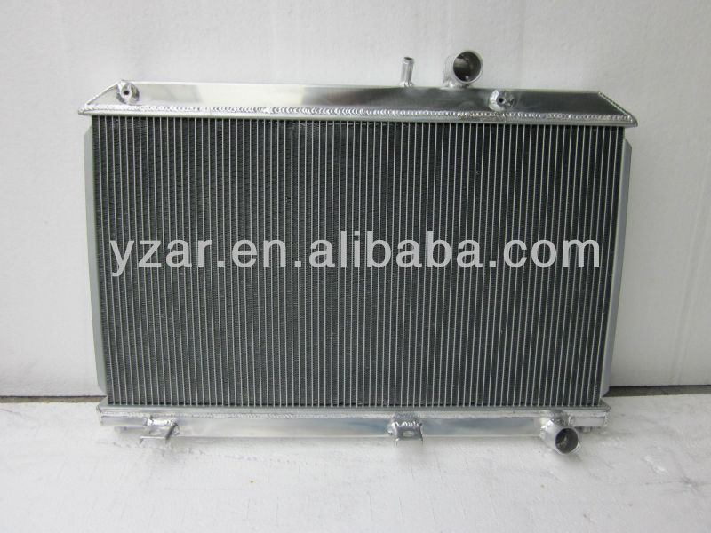 High performance aluminum radiator for MAZDA RX7 FD FD3S ALUMINUM ALLOY RACING RADIATOR 92-95 MT