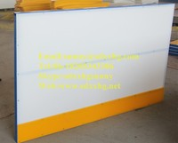 Portable hockey practicing board/ PE board ice rink barrier for sports arena system