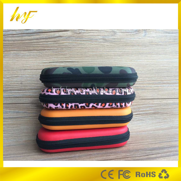 popular product e cigarette leather zipper bags for EGO series