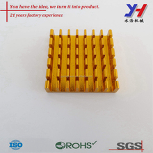 OEM volume production top quality aluminum cooling fin for computer widely
