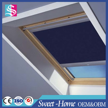 Modern design skylight fabric roller blinds, skylight roof blind