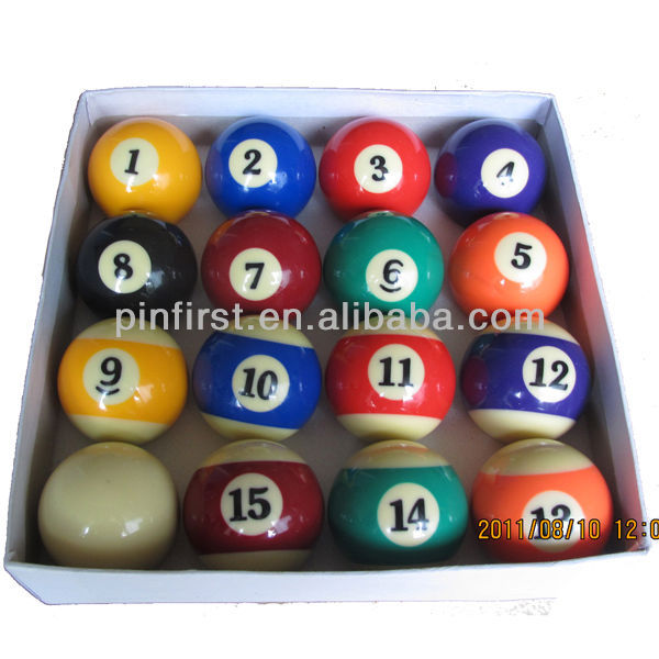 High Quality Beautiful and Attractive Billiard Balls