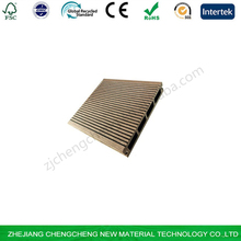 High quality wood plastic composite hollow floor wpc outdoor rotproof Hollow Decking
