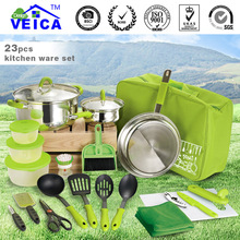 23 pcs camping cooking for South American market