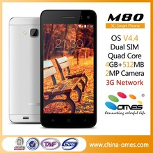High Quality Control M80 4.5inch Quad Core 3G WCDMA Android good quality mobile phone