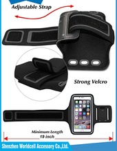water sweat resistant armband cell phone case for iphone running armband
